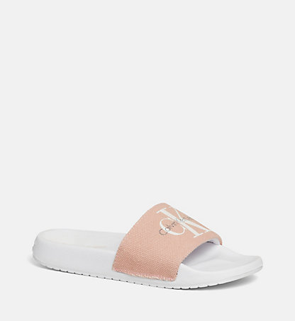 CALVIN KLEIN Canvas Slippers 0000RE9587DSK