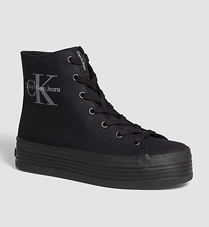 CALVIN KLEIN JEANS High-Top Sneakers - Zabrina 0000RE9616BLK
