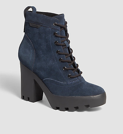 CALVIN KLEIN JEANS Bottines en daim 0000RE9618MNT