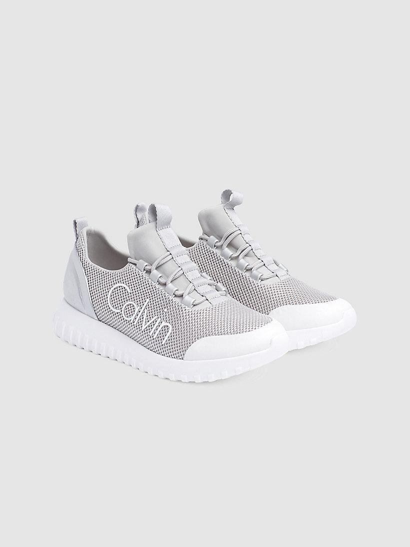 Calvin Klein - Sneakers aus Metallic-Mesh - 2