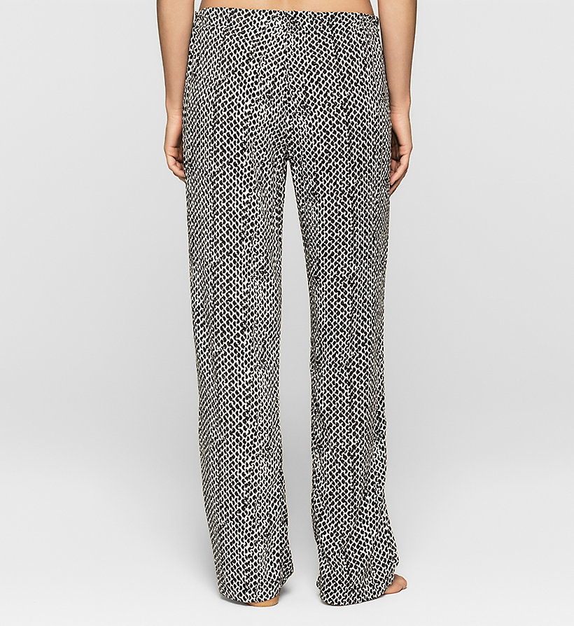 CALVINKLEIN Pants - LAYERED ABSTRACT - CALVIN KLEIN TROUSERS - detail image 1
