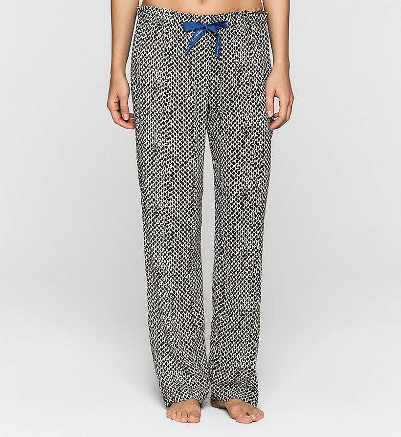 CALVINKLEIN Pants - LAYERED ABSTRACT - CALVIN KLEIN TROUSERS - main image
