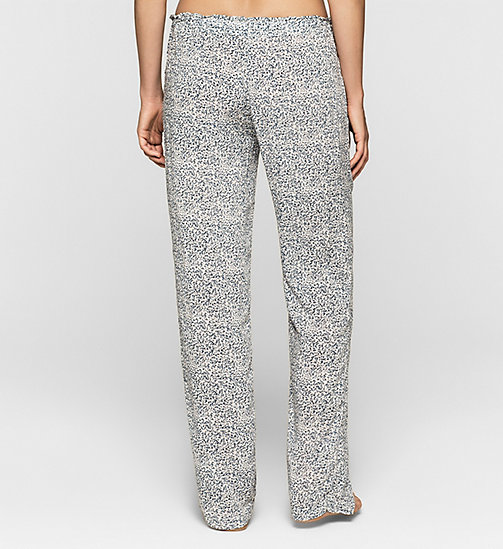 CALVINKLEIN Pants - LAYERED ABSTRACT - CALVIN KLEIN PYJAMA BOTTOMS - detail image 1