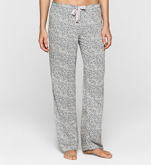 CALVINKLEIN Pants - LAYERED ABSTRACT - CALVIN KLEIN PYJAMA BOTTOMS - main image
