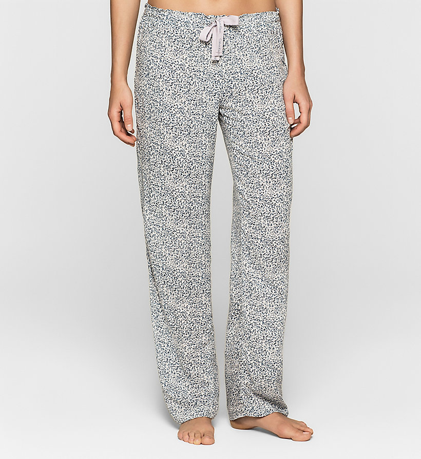 CALVINKLEIN Pantalon - LAYERED ABSTRACT - CALVIN KLEIN PANTALONS - image principale