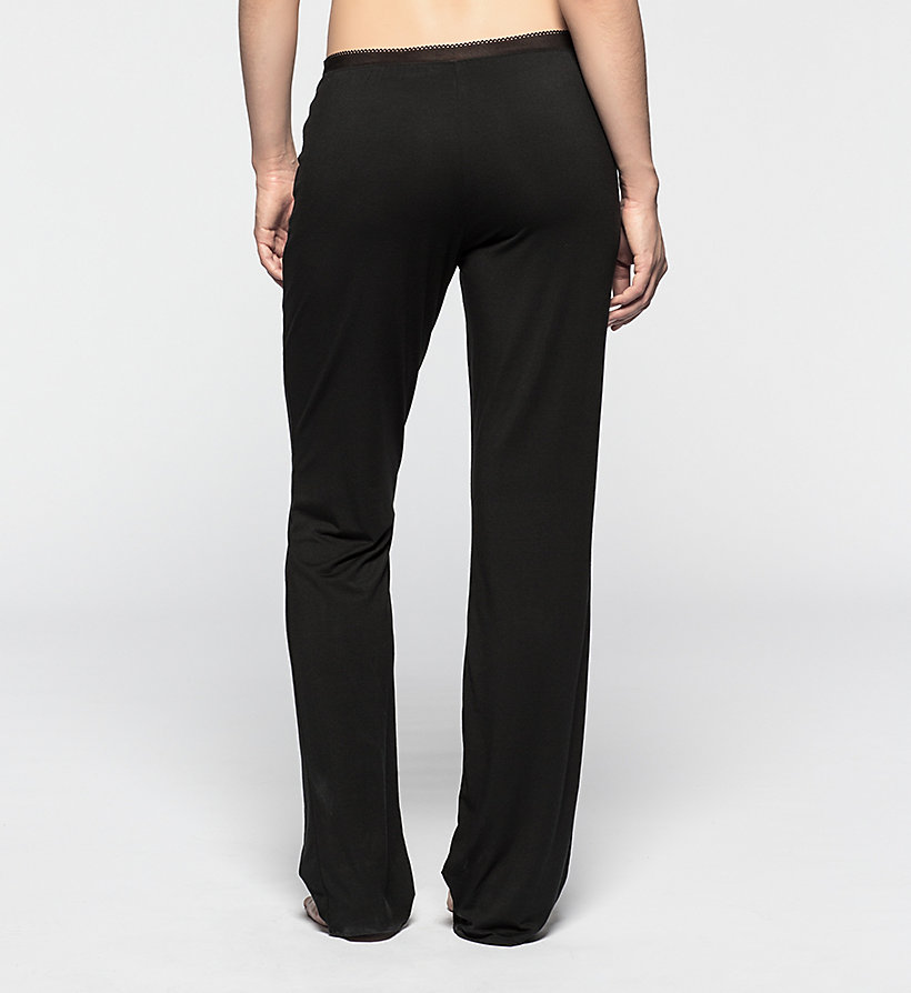 CALVINKLEIN PJ Pants - Icon - BLACK - CALVIN KLEIN TROUSERS - detail image 1