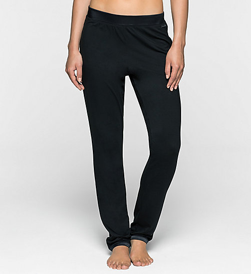 CALVINKLEIN Tapered PJ Pants - BLACK - CALVIN KLEIN PYJAMA BOTTOMS - main image