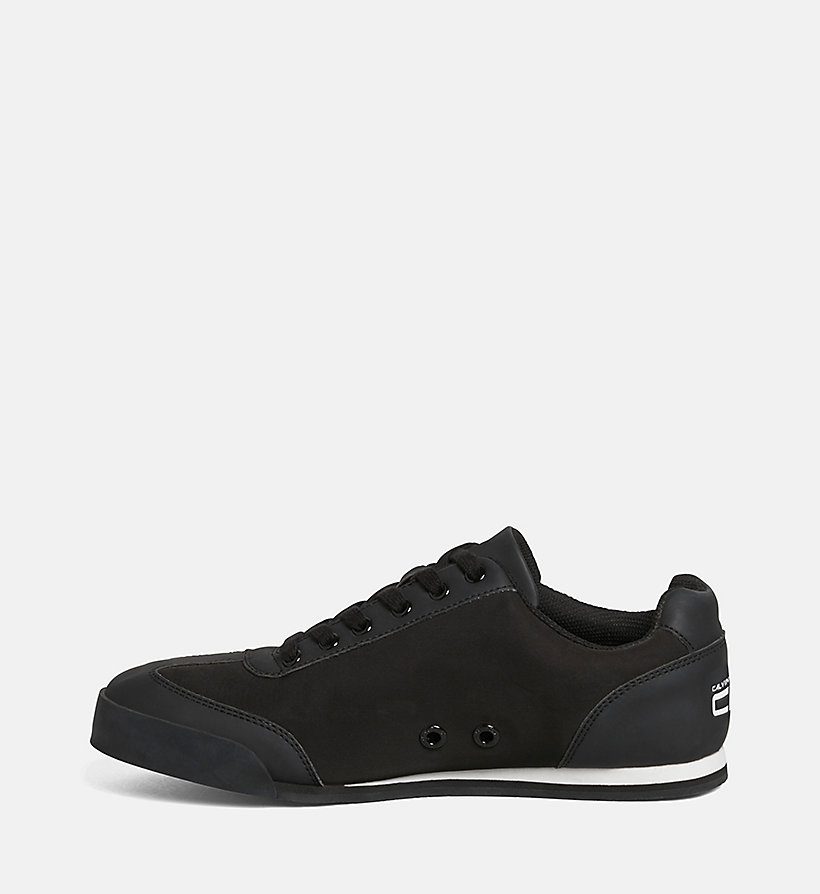 CKJEANS Matte Sneakers - BLACK/BLACK-WHITE - CK JEANS SHOES & ACCESSORIES - detail image 2