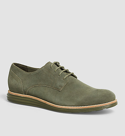 CALVIN KLEIN JEANS Suede Lace-Up Shoes - Sean 0000SE8471MRY
