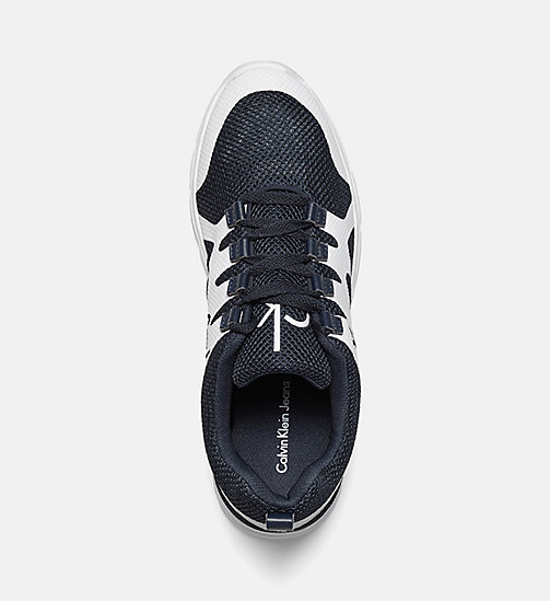 Mesh Sneakers - BLACK/NAVY/WHITE - CALVIN KLEIN JEANS SHOES & ACCESSORIES - detail image 1