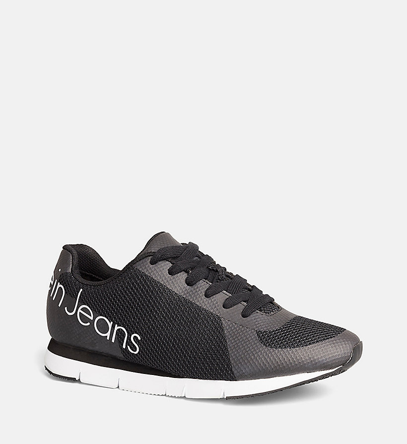 CKJEANS Mesh Sneakers - BLACK/BLACK - CK JEANS SHOES & ACCESSORIES - main image