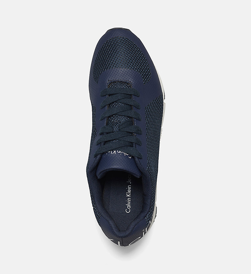 CKJEANS Mesh Sneakers - BLACK/NAVY - CK JEANS SHOES & ACCESSORIES - detail image 1