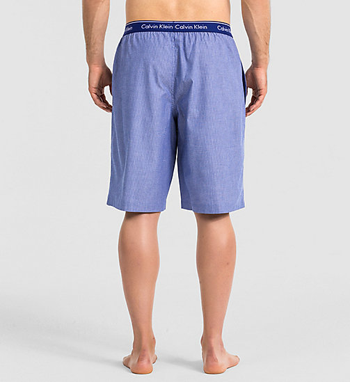 CALVINKLEIN PJ Shorts - YARDLEY STRIPE DARK MIDNIGHT - CALVIN KLEIN MEN - detail image 1