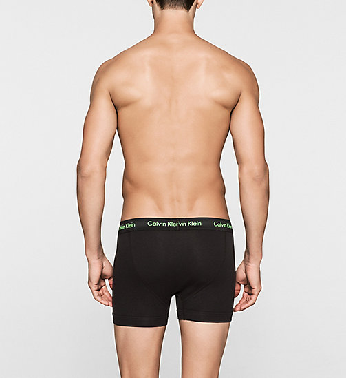 CALVINKLEIN 3 Pack Trunks - Cotton Stretch - B-PINK/GREEN/BLU - CALVIN KLEIN MULTIPACKS - detail image 1