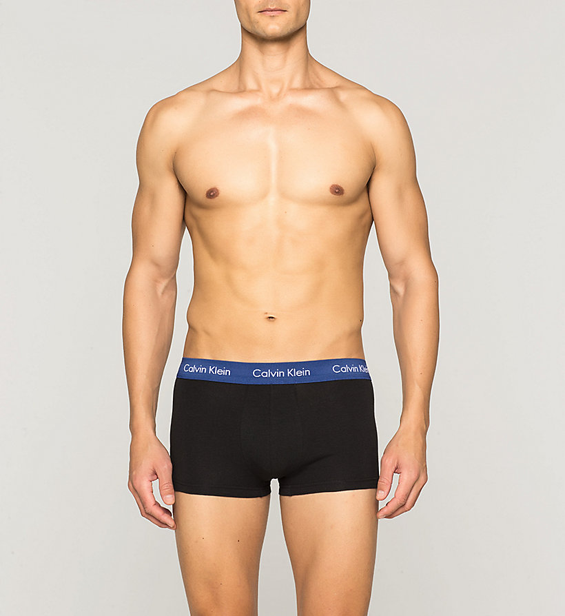 CALVINKLEIN 3 Pack Low Rise Trunks - Cotton Stretch - B-BRANDEIS/PERPETUA/AMORA - CALVIN KLEIN UNDERWEAR - detail image 2