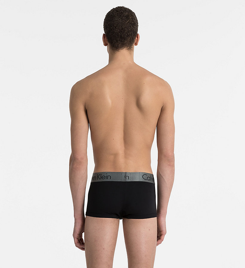 CALVINKLEIN Low Rise Trunks - Zinc - BLACK - CALVIN KLEIN UNDERWEAR - detail image 1
