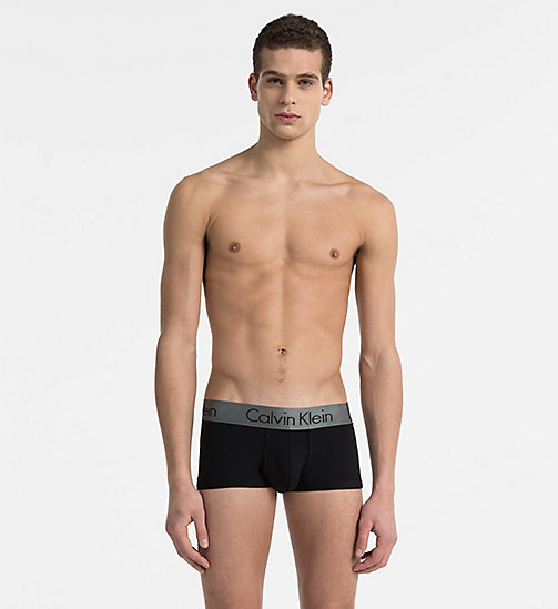 CALVINKLEIN Low Rise Trunks - Zinc - BLACK - CALVIN KLEIN TRUNKS - main image