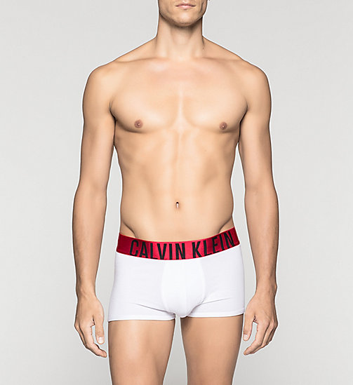 CALVINKLEIN Shorts - Power Red - WHITE - CALVIN KLEIN SHORTS - main image