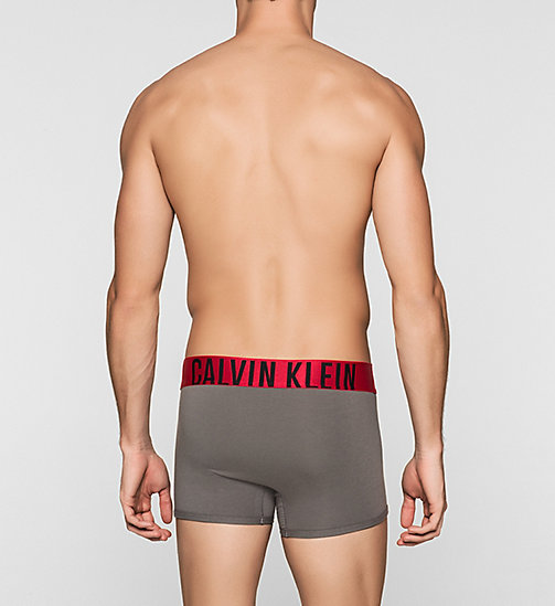 CALVINKLEIN Trunks - Power Red - GREY SKY - CALVIN KLEIN TRUNKS - detail image 1