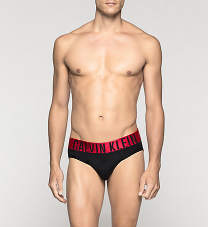 CALVIN KLEIN Hip Briefs - Power Red 0000U8315A001