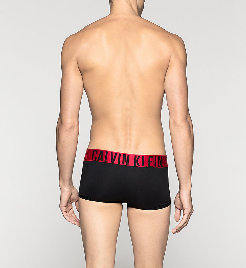 CALVINKLEIN Low Rise Trunks - Power Red - BLACK - CALVIN KLEIN UNDERWEAR - detail image 1