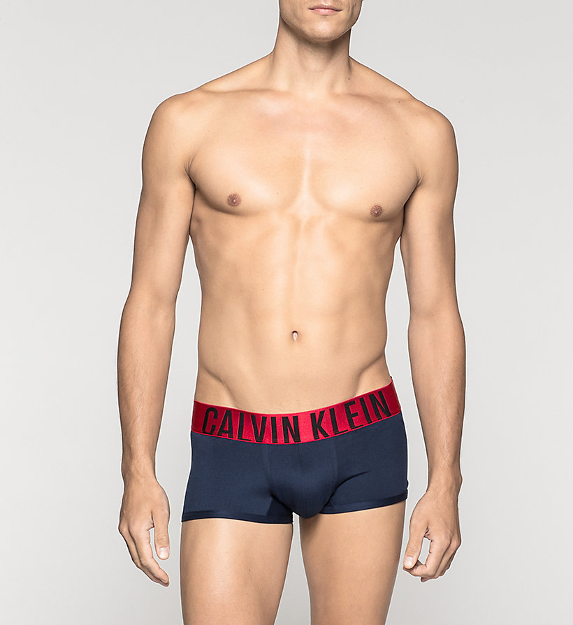 CALVINKLEIN Low Rise Trunks - Power Red - BLUE SHADOW - CALVIN KLEIN UNDERWEAR - main image