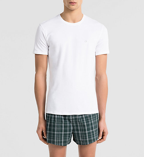 CALVINKLEIN T-shirt - Liquid Cotton - WHITE - CALVIN KLEIN NIGHTWEAR & LOUNGEWEAR - main image