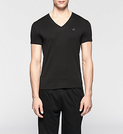 CALVIN KLEIN T-Shirt - Liquid Cotton 0000U8321A001
