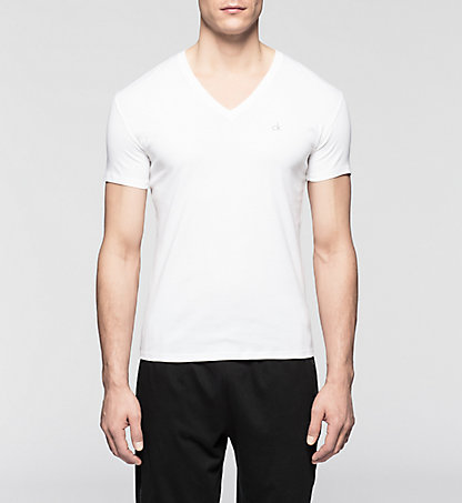 CALVIN KLEIN T-Shirt - Liquid Cotton 0000U8321A100