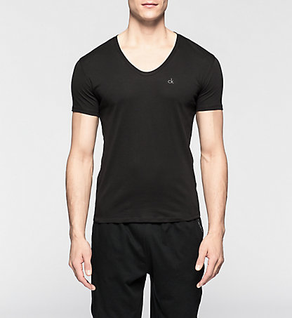 CALVIN KLEIN T-shirt - Liquid Cotton 0000U8322A001