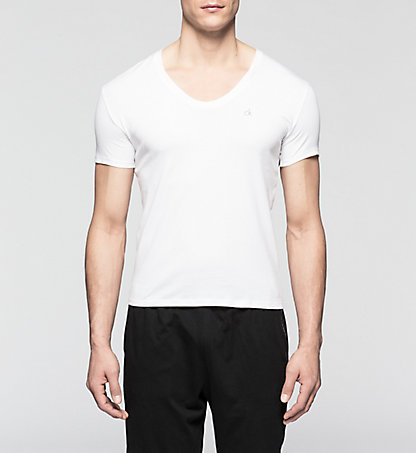 CALVIN KLEIN T-shirt - Liquid Cotton 0000U8322A100