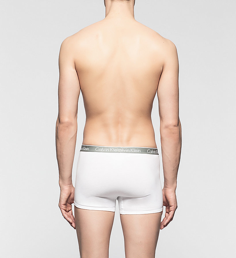 CALVINKLEIN Trunks - CK One - WHITE - CALVIN KLEIN MEN - detail image 1