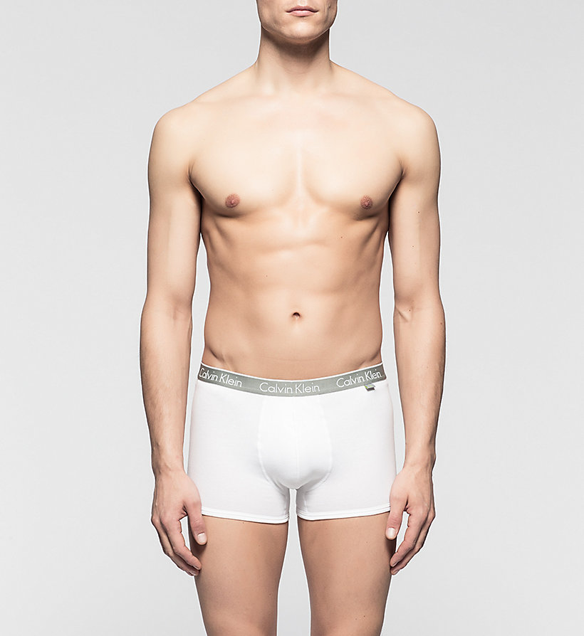 CALVINKLEIN Trunks - CK One - WHITE - CALVIN KLEIN MEN - main image