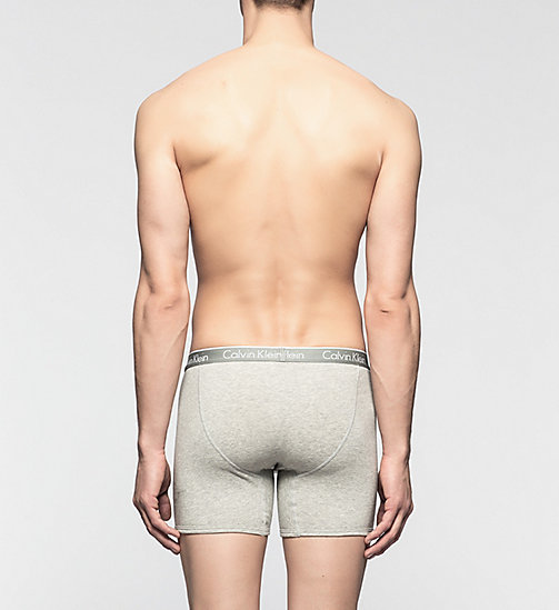 CALVINKLEIN Trunks - CK One - HEATHER GREY - CALVIN KLEIN BOXERS - detail image 1