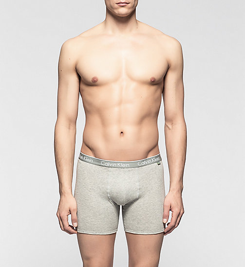 CALVINKLEIN Boxer - CK One - HEATHER GREY - CALVIN KLEIN BOXERSHORTS - main image