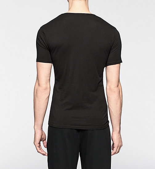 CALVINKLEIN 2 Pack T-shirts - CK One - BLACK - CALVIN KLEIN MEN - detail image 1