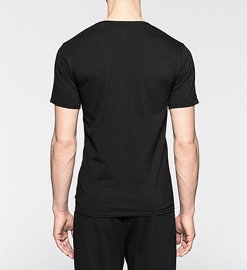 CALVINKLEIN 2 Pack T-shirts - CK One - BLACK - CALVIN KLEIN NIGHTWEAR & LOUNGEWEAR - detail image 1
