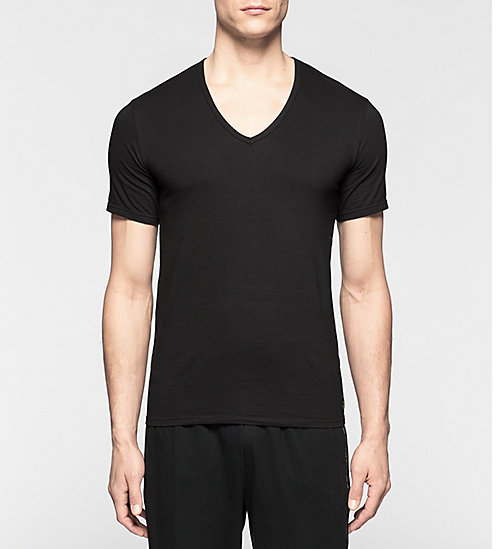CALVINKLEIN 2 Pack T-shirts - CK One - BLACK - CALVIN KLEIN NIGHTWEAR & LOUNGEWEAR - main image