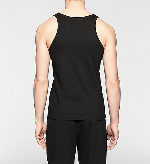 CALVINKLEIN 2 Pack Tank Tops - CK One - BLACK - CALVIN KLEIN MEN - detail image 1