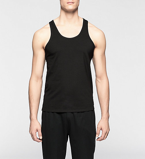 CALVINKLEIN 2 Pack Tank Tops - CK One - BLACK - CALVIN KLEIN MEN - main image