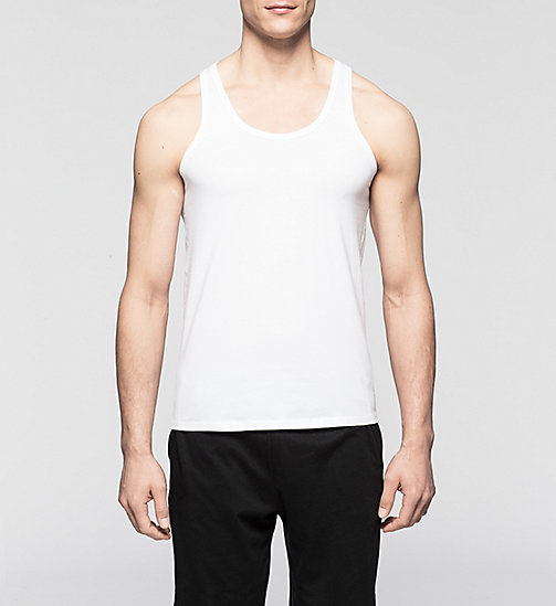 CALVINKLEIN 2 Pack Tank Tops - CK One - WHITE - CALVIN KLEIN Up to 50% - main image