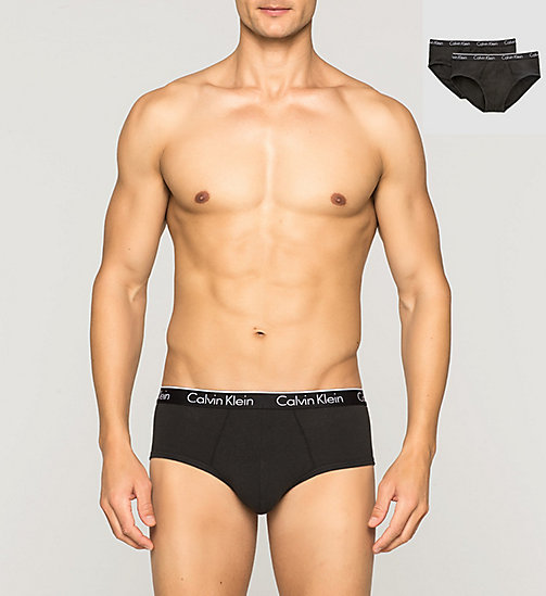 CALVINKLEIN 2 Pack Briefs - CK One - BLACK - CALVIN KLEIN MEN - main image