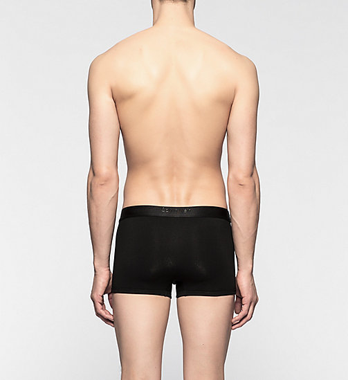 CALVINKLEIN Trunks - CK Bold - BLACK - CALVIN KLEIN TRUNKS - detail image 1