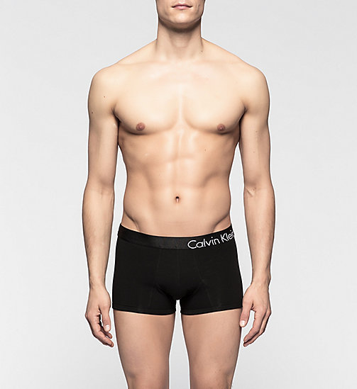 CALVINKLEIN Trunks - CK Bold - BLACK - CALVIN KLEIN TRUNKS - main image