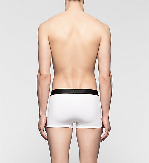 CALVINKLEIN Trunks - CK Bold - WHITE - CALVIN KLEIN TRUNKS - detail image 1