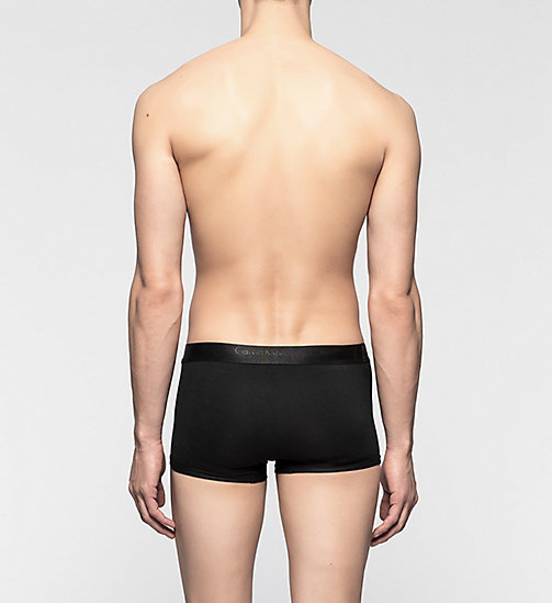 CALVINKLEIN Low Rise Trunks - CK Bold - BLACK - CALVIN KLEIN MEN - detail image 1