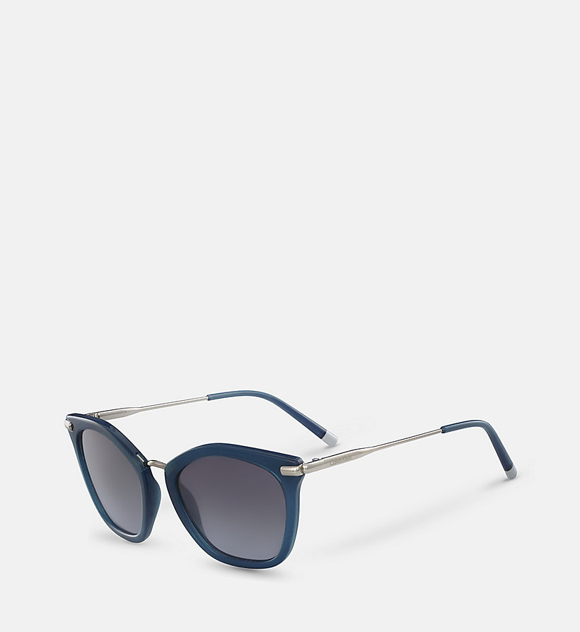 CALVINKLEIN Butterfly Sunglasses CK1231S - BLACK - CALVIN KLEIN SHOES & ACCESSORIES - detail image 1