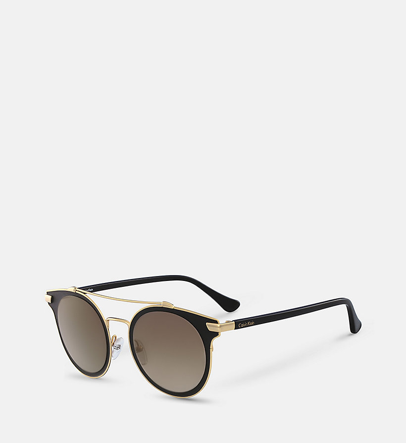 CALVINKLEIN Sunglasses CK2149S - BLACK - CALVIN KLEIN SHOES & ACCESSORIES - detail image 1