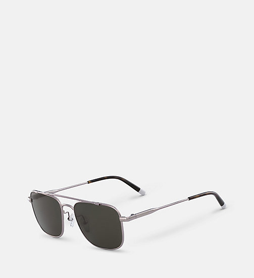 CALVINKLEIN Rectangle Sunglasses CK2150S - GUNMETAL - CALVIN KLEIN SUNGLASSES - detail image 1