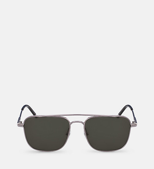 CALVINKLEIN Rectangle Sunglasses CK2150S - GUNMETAL - CALVIN KLEIN SUNGLASSES - main image